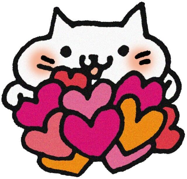 愛いっぱいの猫