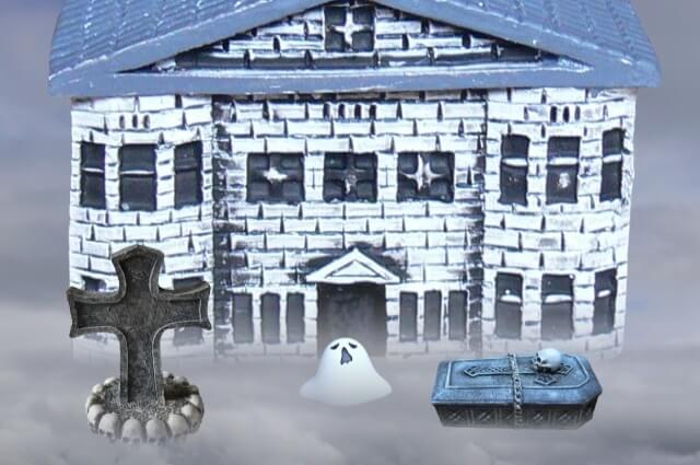 ハロウィンのお化け屋敷