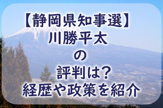 静岡から見える富士山